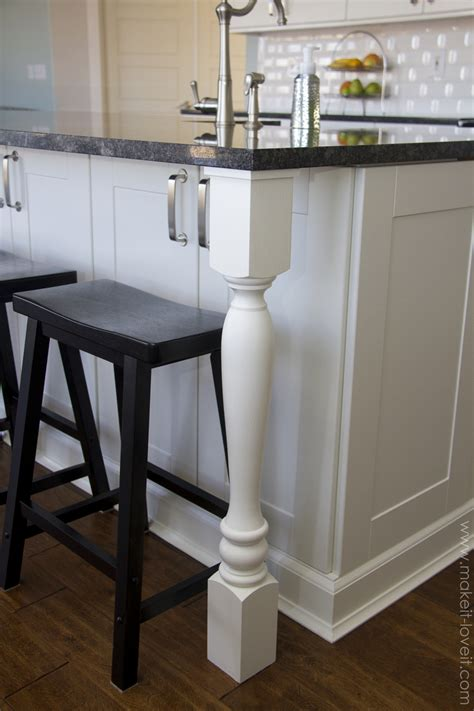 kitchens with different colored islands home improvement adding column supports to counter