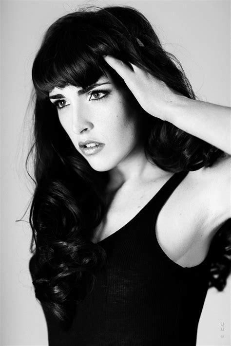 de mode  portraits en noir  blanc