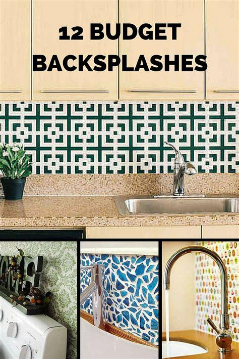 inventive ideas   budget backsplash kitchens bob
