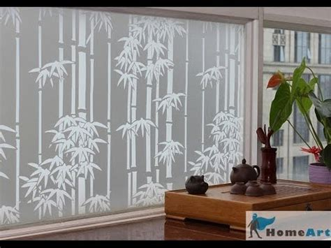Decorative Window Film Decorative Window Film For Sliding Glass Doors YouTube