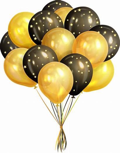 Balloons Balloon Confetti Birthday Transparent Clipart Celebration