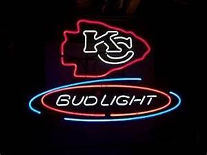 NFL Kansas City Chiefs Bud Light Neon Light Sign 16