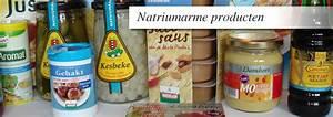 Natriumarme producten