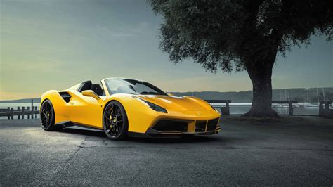 488 Spider 4k Wallpapers by Novitec Rosso 488 Gts Spider Uhd 4k Wallpapers
