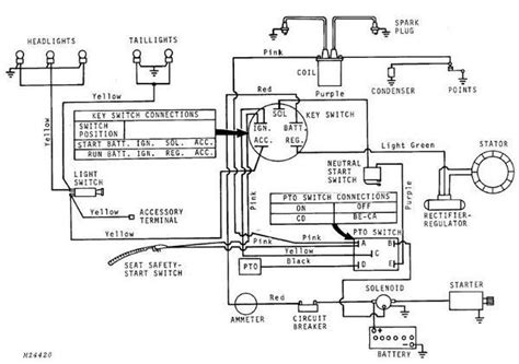 Wiring Diagram For Key Switch by Deere 318 Key Switch Wiring Diagram Wiring Diagram