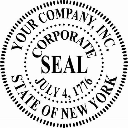 Seal Template Corporate Stamp Word Photoshop Corporation
