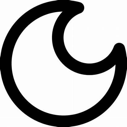Moon Svg Crescent Symbol Icon Phase Onlinewebfonts