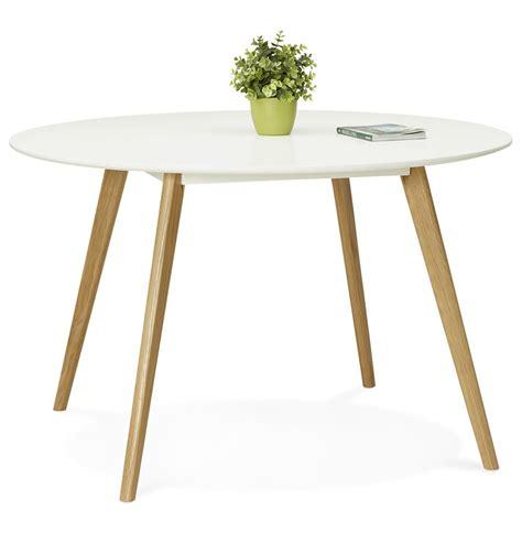 table de cuisine ronde blanche table de cuisine ronde blanche style scandinave