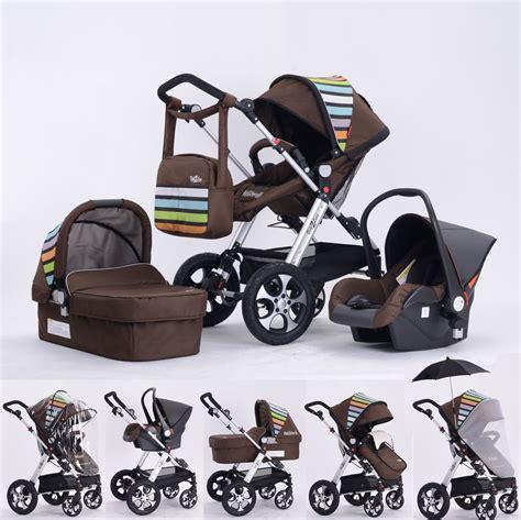 chaise pour bébé poussette 3 en 1 rainbow 2 believe bebe2luxe avis