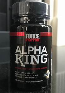 Alpha King Supplement Review  Best All Around Supplement For Guys