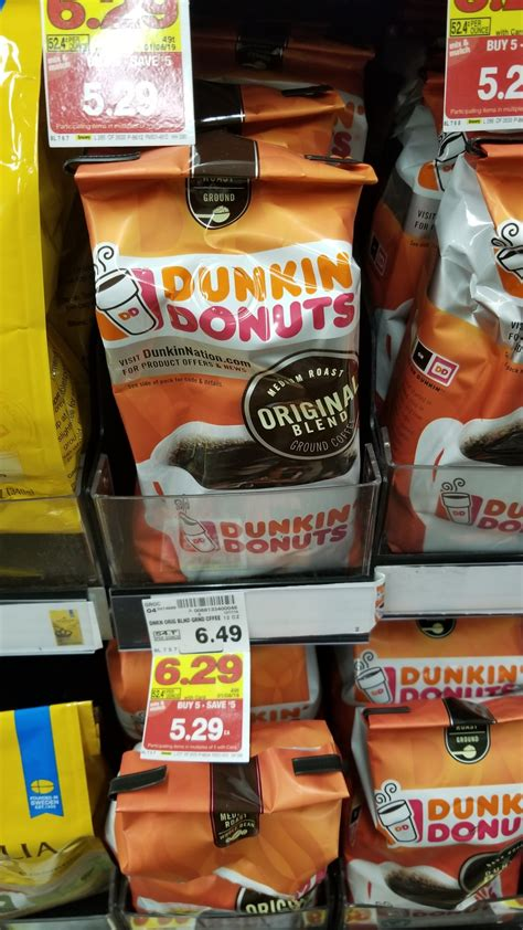 These are all freshly cooked. Dunkin Donuts Coffee Bag just $4.29 - Kroger Couponing