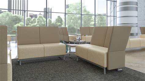 waiting room lounge seating steelcase health