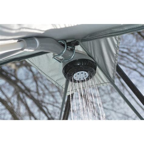 heater battery operated shower system