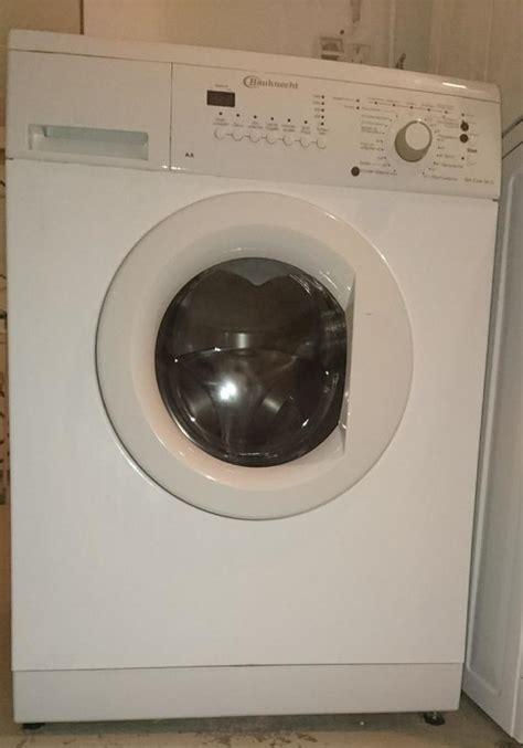bauknecht waschmaschine beim schleudern sehr laut waschmaschine bauknecht neu und gebraucht kaufen bei