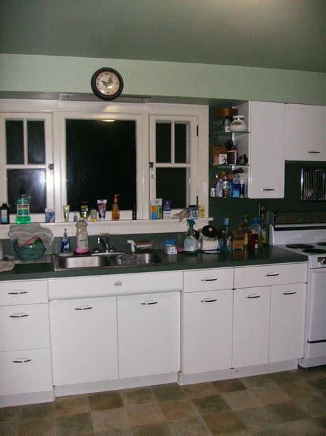 vintage metal geneva kitchen cabinets