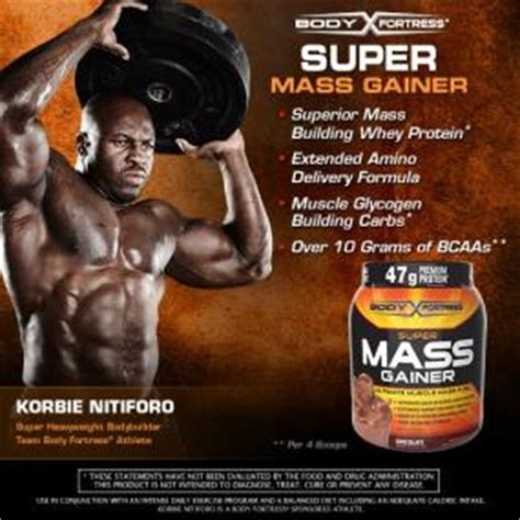 Amazon.com: Body Fortress Super Mass Gainer, Chocolate, 2