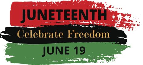 Honoring Juneteenth. Today is Juneteenth. Also known as ...
