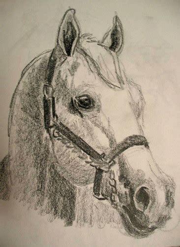 seng nduwe ngamuk horse head sketches