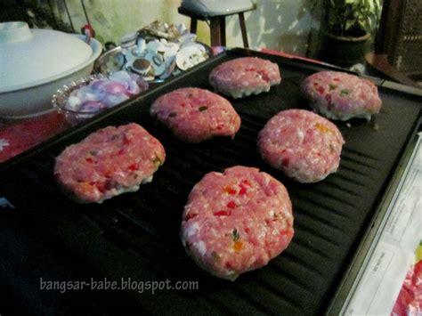 Pork Burger @ Rif's Place - Bangsar Babe