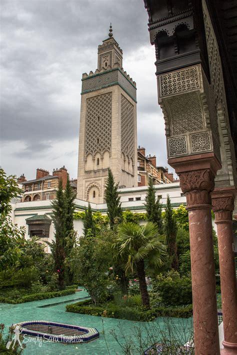 #mosquée de paris #paris #mosque #blue #prints #beautiful #pattern. The Grande Mosquée de Paris — Simply Sara Travel