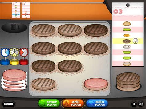 jeux de cuisine avec papa louis jeux de cuisine les burgers de papa louis