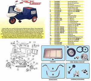Pedal Car Parts  Murray U00ae Three