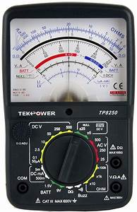 What Is The Difference Between An Analogue Multimeter And