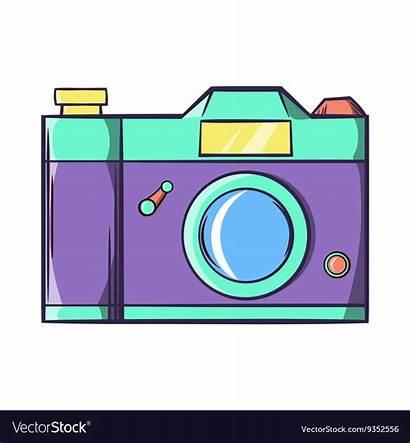 Camera Cartoon Icon Retro Pngio