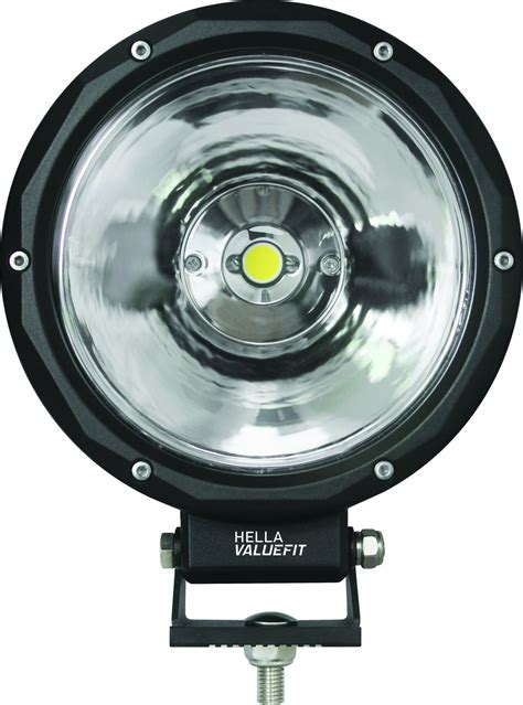 road lights led hella 174 value fit 7 quot led road lights quadratec