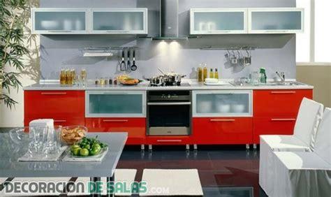muebles en color rojo una apuesta muy vibrante