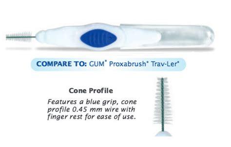Premium Interproximal Brush - Tapered Tip - Pack of 10