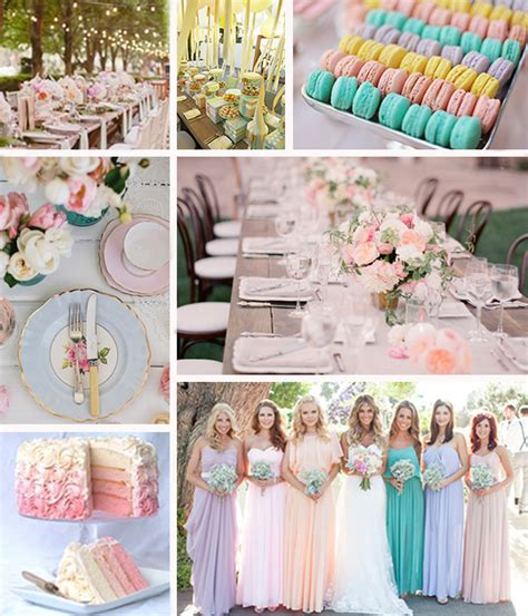 pastel wedding colors pastel wedding inspiration linentablecloth
