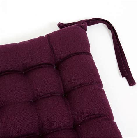 chaise prune galette de chaise prune