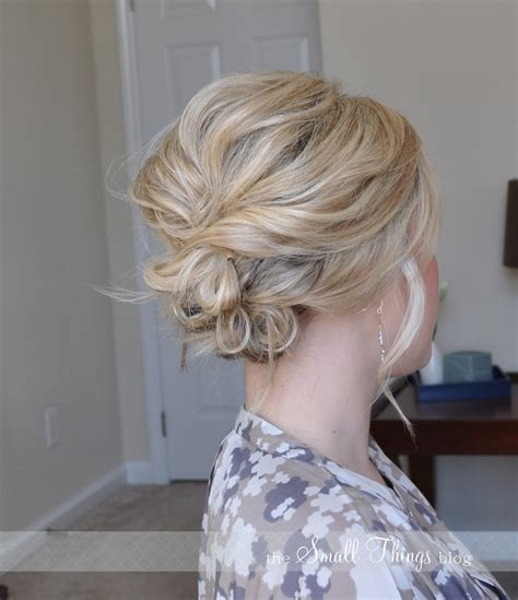 messy side updo  small  blog
