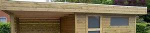 Abri de jardin toit plat au design contemporain Concept Abri