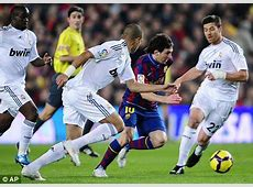 Barcelona 1 Real Madrid 0 Take Zlat Ronaldo misery as £