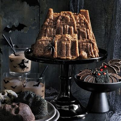 nordic ware haunted house bundt cake pan williams sonoma