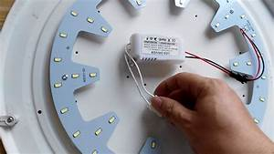 24w Led Ceiling Light Diy Install
