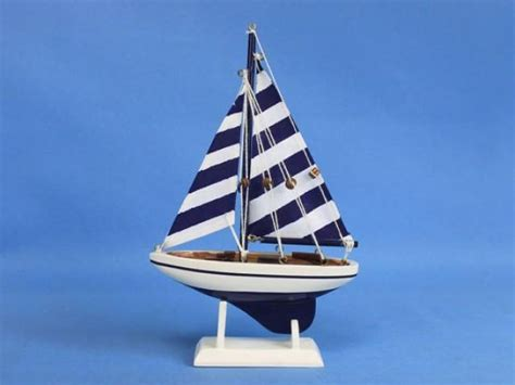 Sailboat Cake Topper by Blue Striped Pacific Sailer 9 Quot Sailboat Wedding Cake