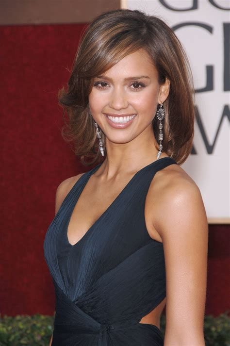 Jessica Alba Medium Haircut Choice Image   Haircut Ideas