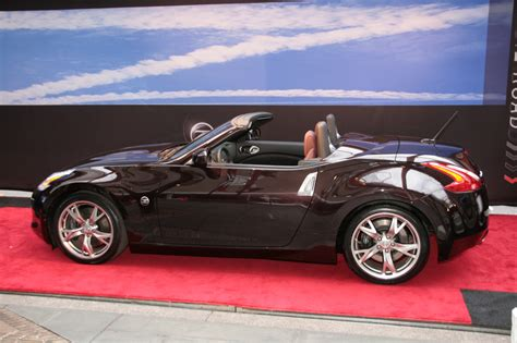 nissan coupe convertible nissan 370z convertible pictures carzi