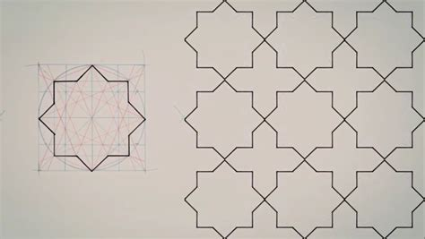 learn complex geometry  islamic design