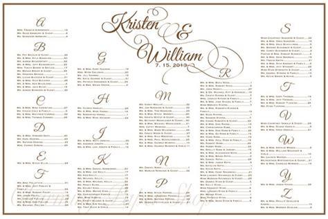 wedding reception seating chart wedding seating chart table seating assignments reception