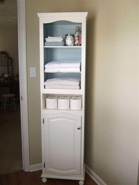 corner linen cabinet   bathroom design ideas decor