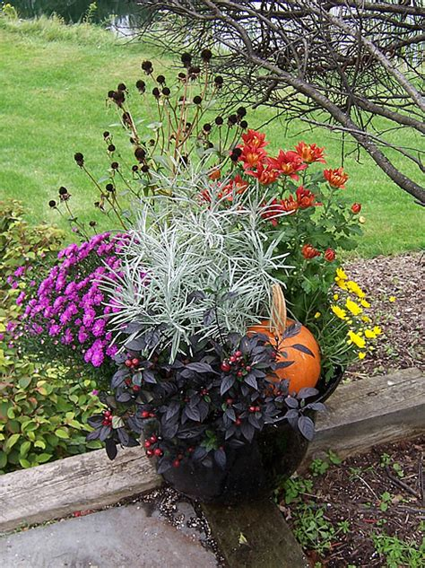 fall garden plants more fall containers 171 the garden worm blog