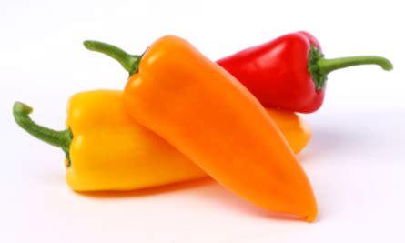 sweet pepper one sweet 174 pepper sunset 174 produce