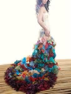 Wearable Art Wedding Dress