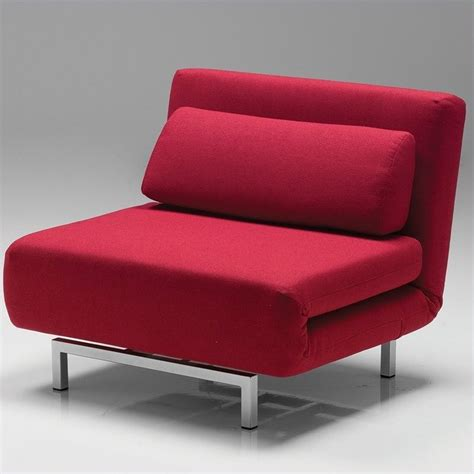 mobital iso chair bed in ween cha iso1 red9 tweed