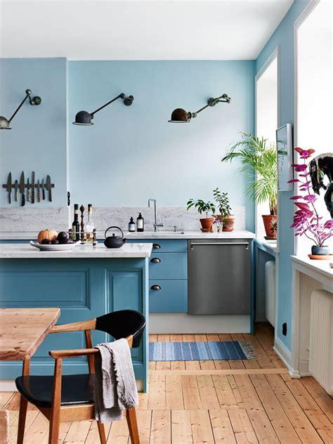 cuisine bleu clair la tentation d 39 une cuisine bleue