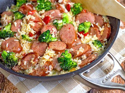 kielbasa sausage recipe kielbasa sausage and rice casserole